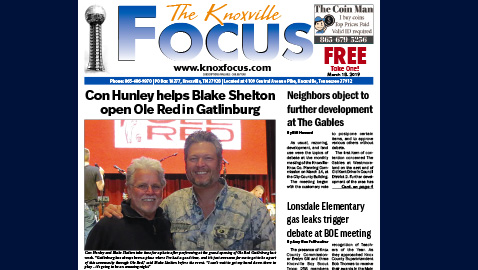 The Knoxville Focus for March 18, 2019