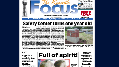 The Knoxville Focus for March 25, 2019