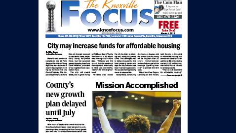 The Knoxville Focus for March 4, 2019