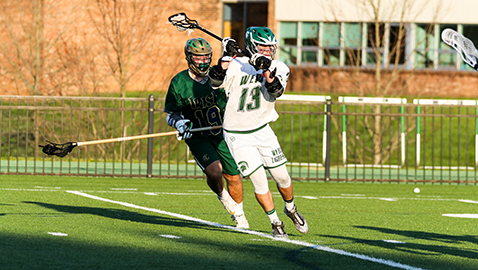 Simmons' five goals lead Webb past Catholic in lacrosse