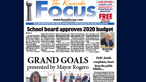 The Knoxville Focus for April 29, 2019