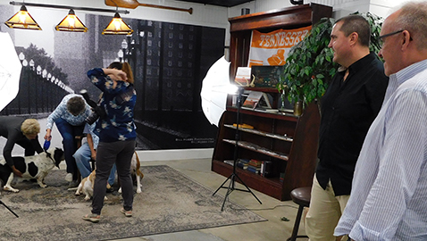 Family Pet Portrait Day was picture perfect