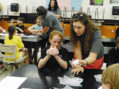 Students study outer space at Central Science Camp