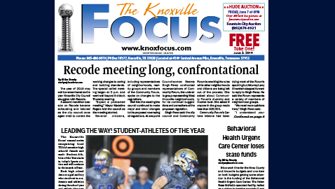The Knoxville Focus for June 3, 2019