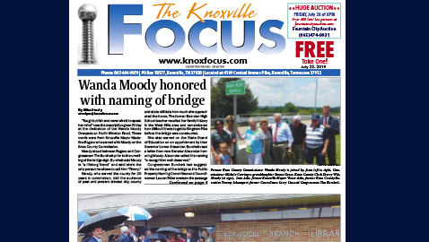 The Knoxville Focus for July 22, 2019