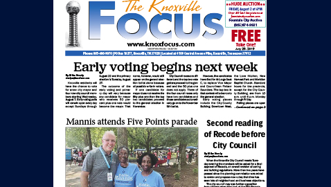 The Knoxville Focus for July 29, 2019