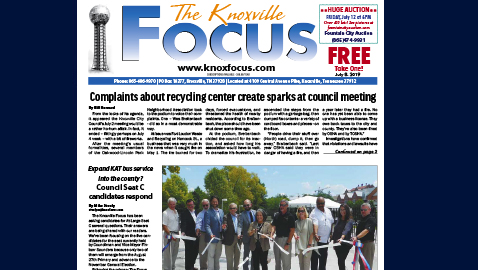 The Knoxville Focus for July 8, 2019