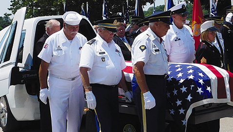 Unclaimed Vietnam Veteran buried with honors