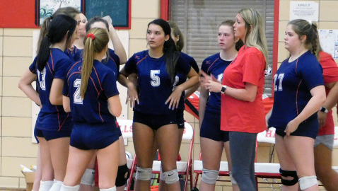 Halls volleyball team opens new era with victory