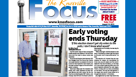 The Knoxville Focus for August 19, 2019