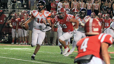 Unbeaten Powell impressive in 49-0 win over Red Devils