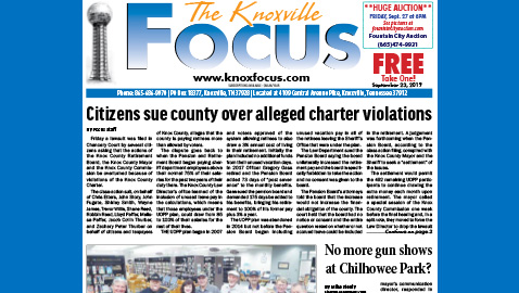 The Knoxville Focus for September 23, 2019