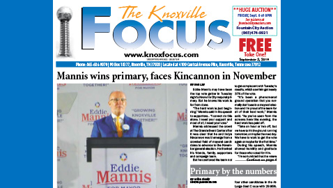 The Knoxville Focus for September 3, 2019