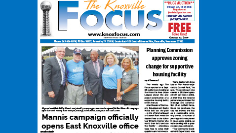 The Knoxville Focus for October 14, 2019
