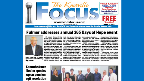 The Knoxville Focus for October 28, 2019
