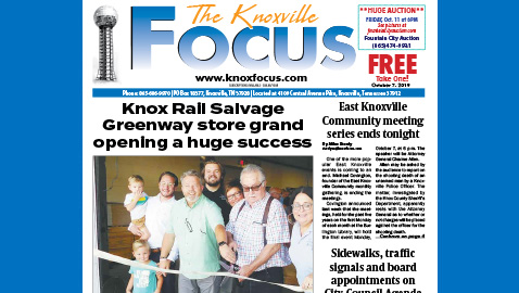 The Knoxville Focus for October 7, 2019
