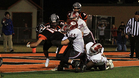 Powell rallies, beats Oak Ridge 27-21