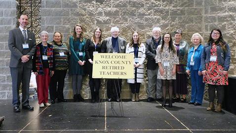 Aspiring educators receive scholarships from Retired Teachers Association