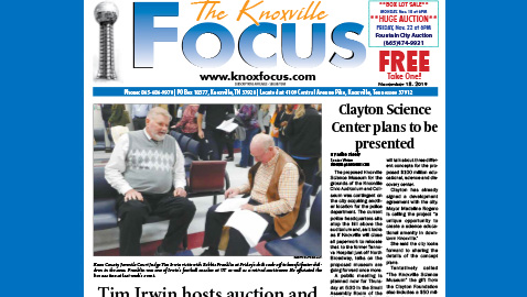 The Knoxville Focus for November 18, 2019