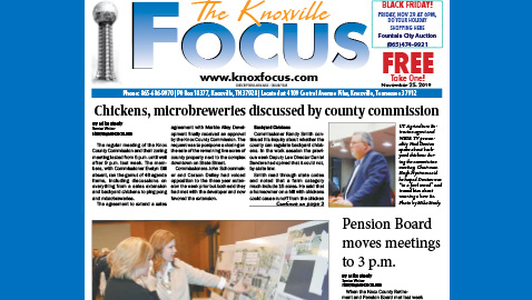 The Knoxville Focus for November 25, 2019