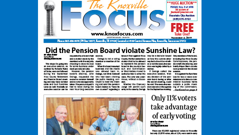 The Knoxville Focus for November 4, 2019