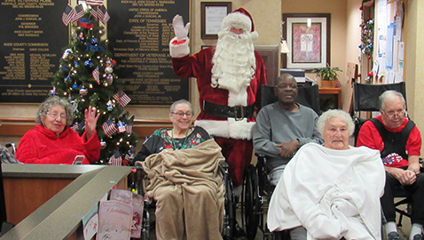 Elks Lodge 160 make veterans' holiday season merrier