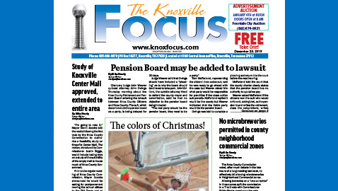 The Knoxville Focus for December 23, 2019