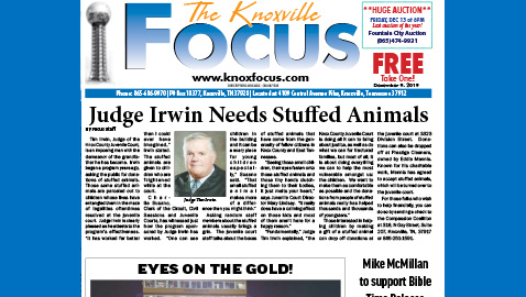 The Knoxville Focus for December 9, 2019