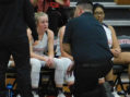 Short-handed Lady Bobcats fall to Clinton in district showdown