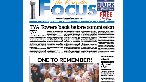 The Knoxville Focus for the week of January 13, 2020