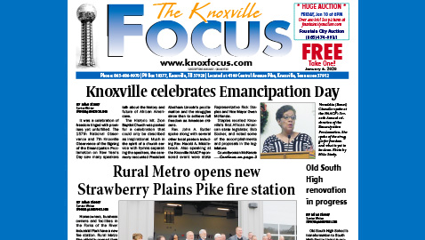 The Knoxville Focus for January 6, 2020