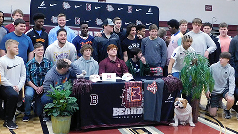 Seven Bearden student-athletes sign letters of intent