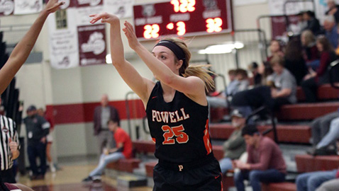 Powell holds off Oak Ridge after Trumm ties record