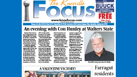 The Knoxville Focus for February 17, 2020