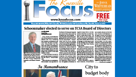 The Knoxville Focus for February 3, 2020