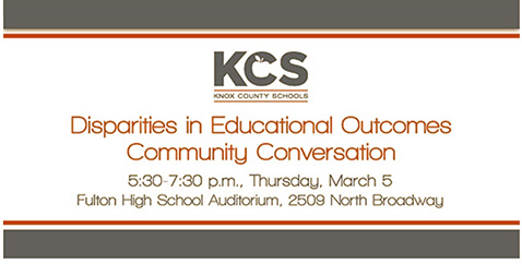 Knox County Schools Disparities in Educational Outcomes—Community Conversation