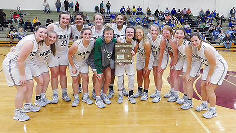 Lady Hornets claim first region hoops title since 2001