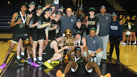 Irish win state hoops title with win over Briarcrest