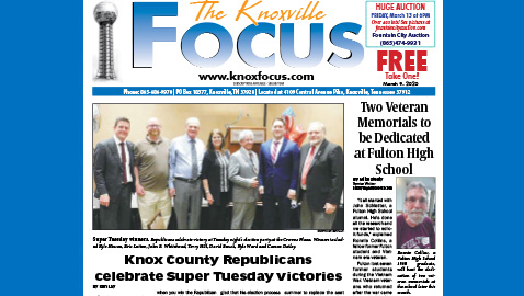 The Knoxville Focus for March 9, 2020