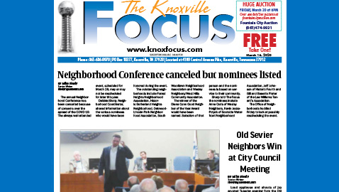 The Knoxville Focus for March 16, 2020