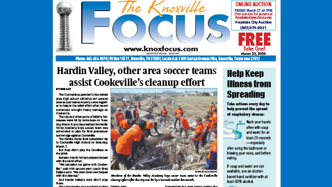 The Knoxville Focus for March 23, 2020