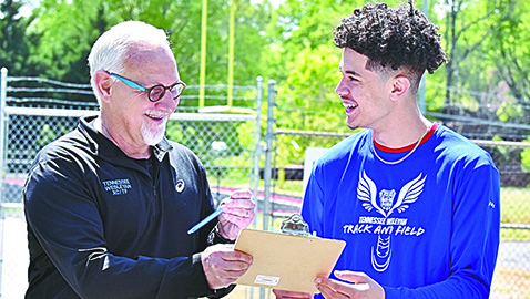 Central's Gaston signs to run track for Tennessee Wesleyan