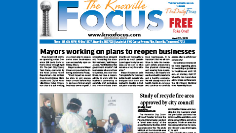 The Knoxville Focus for April 27, 2020