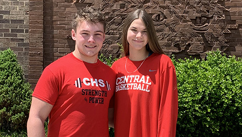 Blair and Bost helped lead Central to new heights