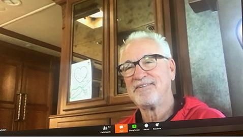 HVA baseball gets virtual visit from top Major League manager