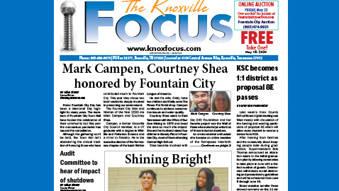 The Knoxville Focus for May 18, 2020