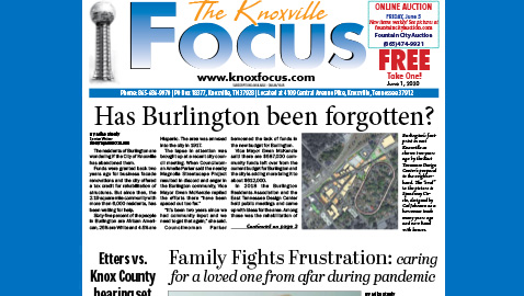 The Knoxville Focus for June 1, 2020
