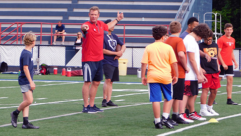 West Rebels join middle school football league
