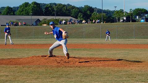 KCS hosts summer league baseball, falls to Wildcats