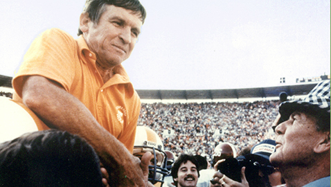 Remembering Johnny Majors